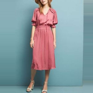 Pink Anthro Dress (Medium)